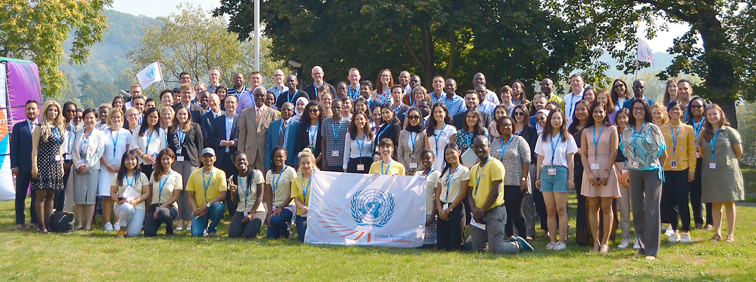 United Nations Summer Academy, group photo