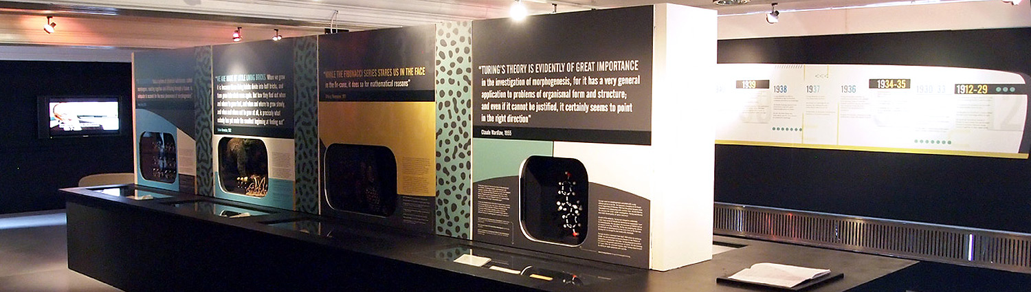 Alan Turing and Life's Enigma exhibition