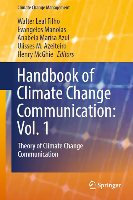 Front cover of Handbook of Climate Change Communication. Vol 1